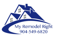 My Remodel Right Logo with Phone Number